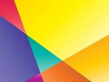 Fondo geometrico di colore Immagini Stock