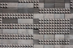 Fondo geometrico di struttura delle mattonelle Immagini Stock