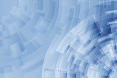Fondo geometrico di tecnologia con le linee dell'arco illustrazione vettoriale