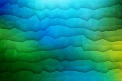 Fondo geometrico di vettore astratto 3D Immagini Stock