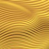 Fondo geometrico di vettore di scintillio astratto dell'oro Fotografia Stock