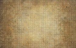 Fondo geometrico marrone d'annata con i cerchi Fotografia Stock Libera da Diritti