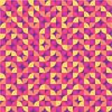 Fondo geometrico - modello senza cuciture Fotografia Stock