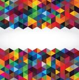 Fondo geometrico moderno astratto Immagini Stock