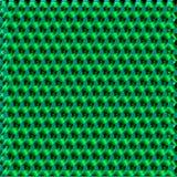 Fondo geometrico moderno verde intenso di vettore Immagine Stock Libera da Diritti