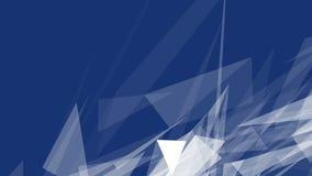 Fondo geometrico poligonale dell'estratto, triangoli Carta da parati moderna Stile elegante del fondo illustrazione vettoriale