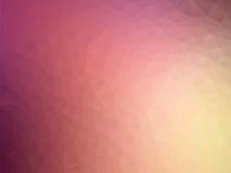 Fondo geometrico porpora pastello molle illustrazione di stock