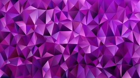 Fondo geometrico porpora scuro del mosaico delle mattonelle del triangolo - progettazione grafica di vettore dai triangoli Fotografia Stock