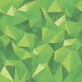 Fondo geometrico senza cuciture del modello triangolare dei poligoni Fotografia Stock