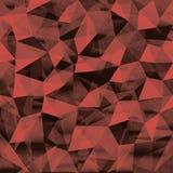 Fondo geometrico senza cuciture del modello triangolare dei poligoni Fotografie Stock Libere da Diritti