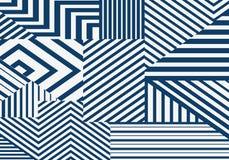 Fondo geometrico spogliato estratto illustrazione vettoriale