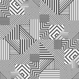 Fondo geometrico spogliato estratto royalty illustrazione gratis