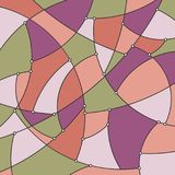 Fondo geometrico in tonalità del rosa Immagine Stock