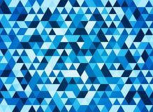fondo geometrico triangolare blu di forma royalty illustrazione gratis
