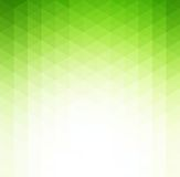 Fondo geometrico verde astratto di tecnologia Fotografia Stock Libera da Diritti
