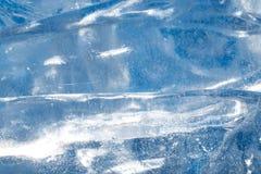 Fondo ghiacciato Immagine Stock