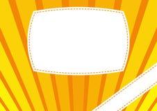 Fondo giallo arancione Royalty Illustrazione gratis