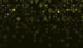 Fondo giallo astratto Fotografie Stock