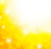 Fondo giallo astratto illustrazione di stock