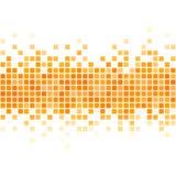 Fondo giallo astratto del pixel Immagine Stock