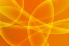 Fondo giallo astratto di colore Immagine Stock