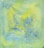 fondo Giallo-blu sulla carta di struttura L'effetto di attrito illustrazione vettoriale