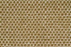 Fondo giallo-chiaro del rattan Fotografia Stock
