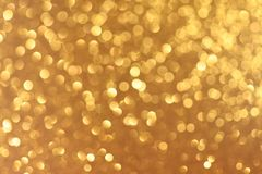 Fondo giallo del nuovo anno o di Natale fotografie stock