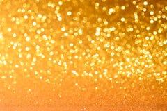 Fondo giallo del nuovo anno o di Natale fotografia stock