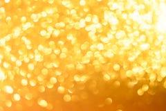 Fondo giallo del nuovo anno o di Natale fotografia stock libera da diritti