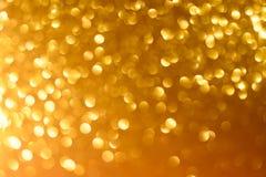 Fondo giallo del nuovo anno o di Natale immagini stock