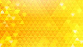 Fondo giallo del triangolo fotografie stock