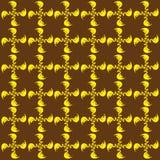 Fondo giallo e marrone Fotografie Stock