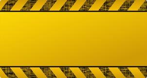 Fondo giallo scuro della costruzione Immagini Stock Libere da Diritti
