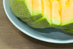 Fondo giapponese della frutta dello scorrevole del melone Fotografia Stock Libera da Diritti