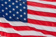 Fondo gigante di stelle e strisce della bandiera americana degli S.U.A. Immagini Stock Libere da Diritti