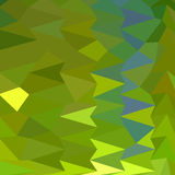 Fondo giugno di Bud Green Abstract Low Polygon Illustrazione di Stock