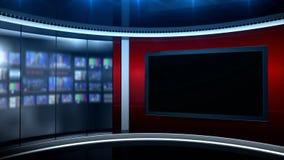 Fondo giusto di notizie archivi video