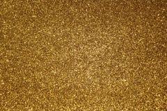 Fondo Glittery de oro foto de archivo libre de regalías