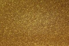 Fondo Glittery de oro foto de archivo