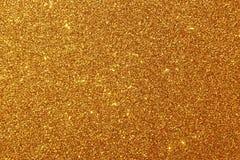 Fondo Glittery de oro fotografía de archivo