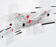 Fondo global del negocio del concepto de la informática del infinito Fotografía de archivo libre de regalías