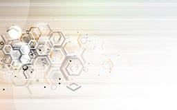 Fondo globale di affari di concetto di tecnologie informatiche di infinito Fotografia Stock