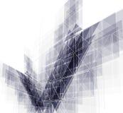 Fondo globale di affari di concetto di tecnologie informatiche di infinito Immagine Stock