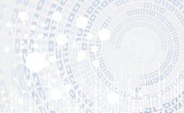 Fondo globale di affari di concetto di tecnologie informatiche di infinito Immagini Stock Libere da Diritti