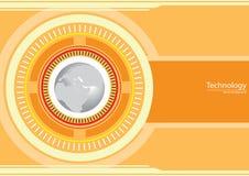 Fondo globale di tecnologia astratta Immagine Stock Libera da Diritti