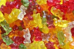 Fondo gomoso del oso Imagen de archivo