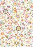 Fondo gráfico colorido Imágenes de archivo libres de regalías