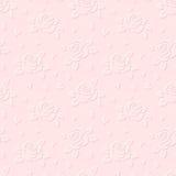 Fondo grabado en relieve inconsútil con las rosas Ilustración del vector Fotos de archivo libres de regalías