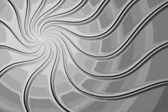 Fondo grafico di turbinio tonalità di gray illustrazione di stock